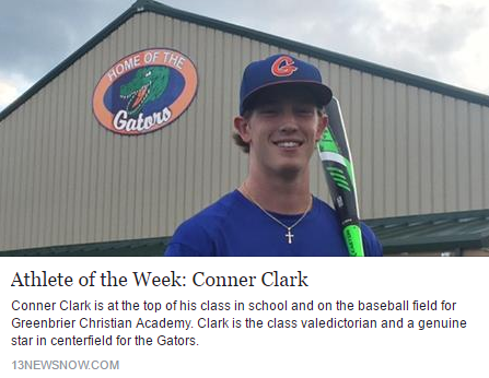 Conner Clark Athlete of the Week