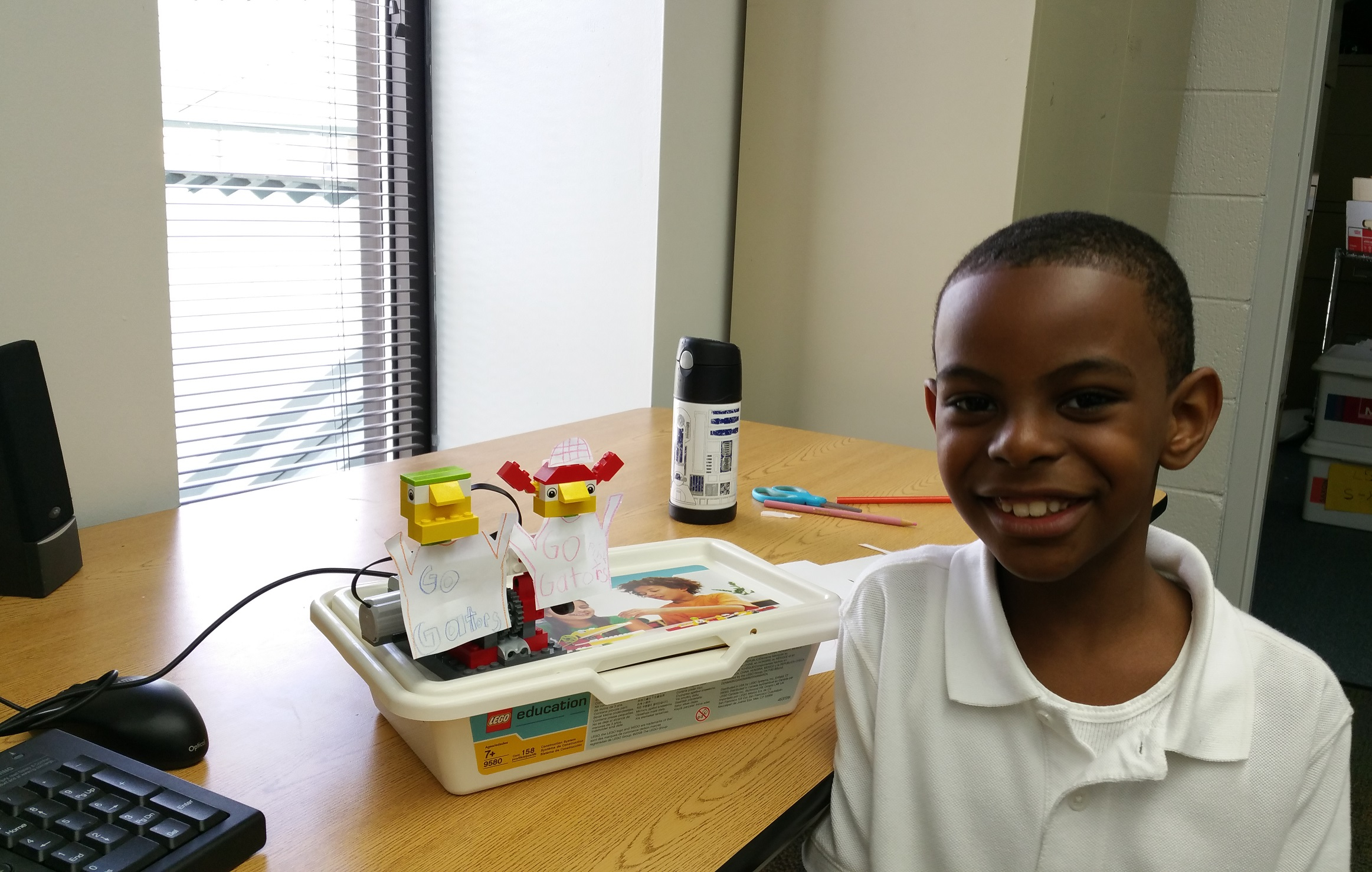 2nd graders Lego Robotics3