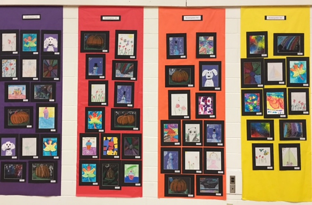 Art Show Preschool and Kindergarten 7